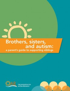 Parent Sibling Guide; families with autism