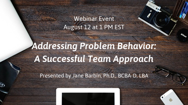 Corrected Webinar Event August 12 at 1 PM EST