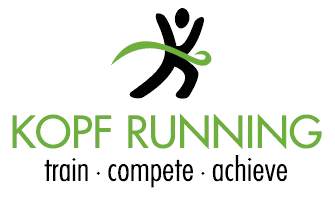 Kopf Running Logo - Green (00000002)