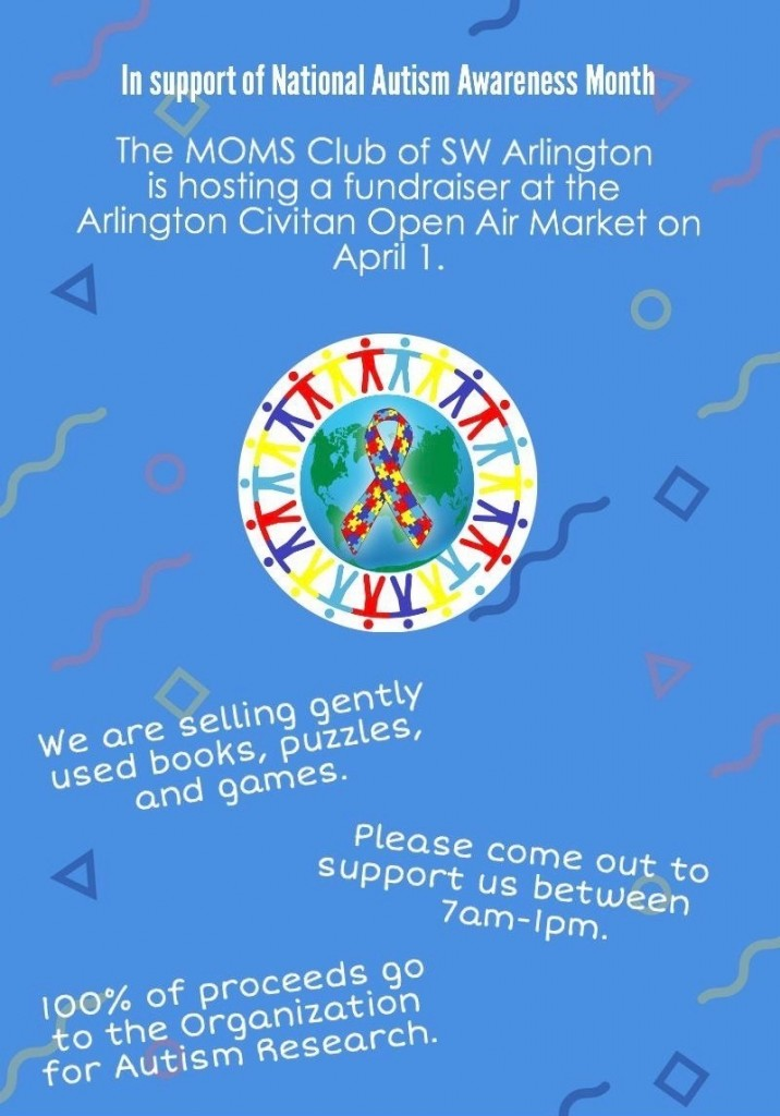 Gently Used Books & Games Sale! @ Arlington Civitan Open Air Market