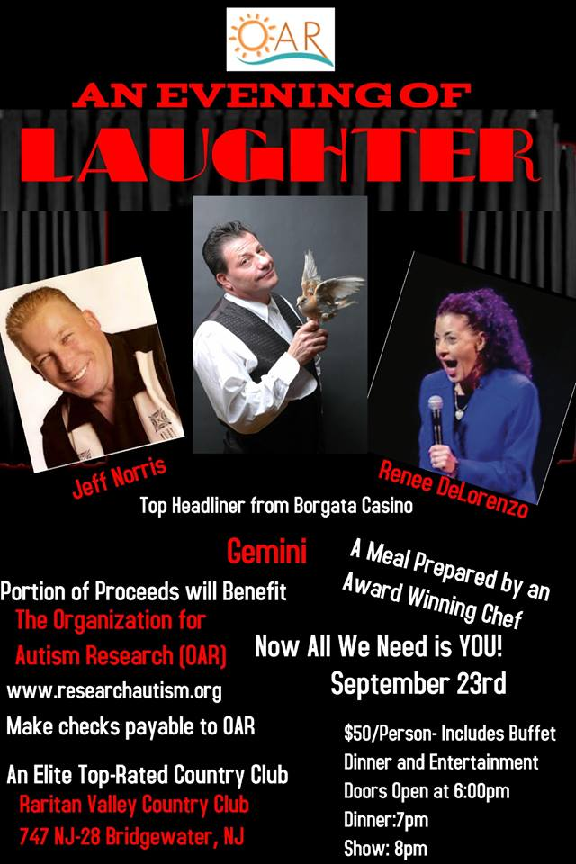 An Evening of Laughter @ Raritan Valley Country Club