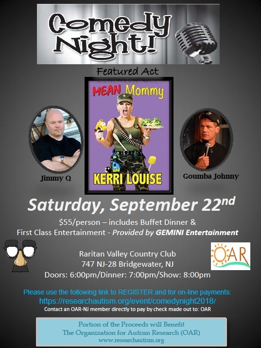 Comedy Night 2018 @ Raritan Valley Country Club