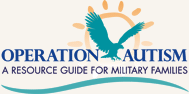 Operation Autism logo - A Resource Guide for Military Families