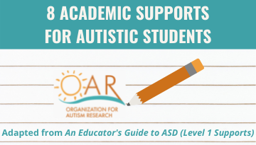 8 Academic Supports for Autistic Students
