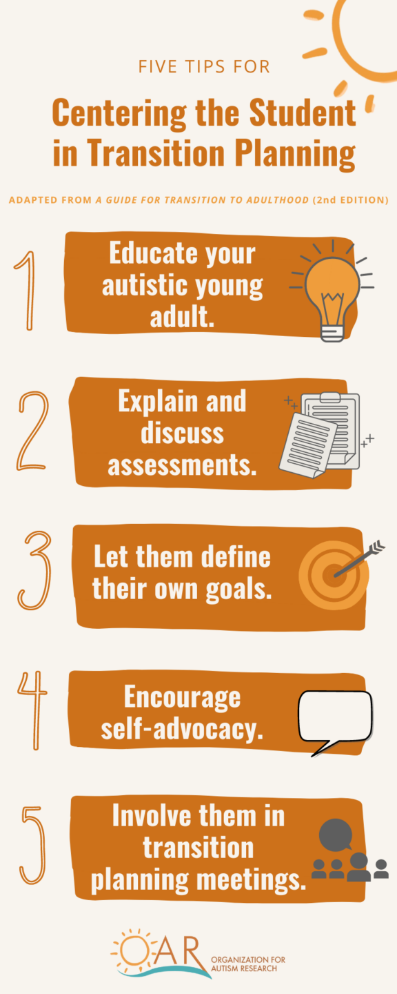 5 tips for student centered transition planning