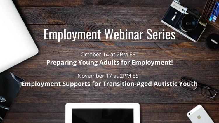 Employment Webinar Series: two webinars in October-November 2021